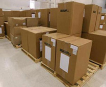 Customs Brokerage Boxes On Pallets